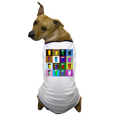Pop Art Beer Dog T-Shirt