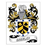 Brinley Coat of Arms Small Poster