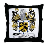 Brinley Coat of Arms Throw Pillow