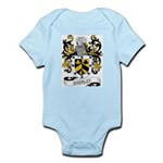 Brinley Coat of Arms Infant Creeper