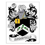 Bromfield Coat of Arms Small Poster