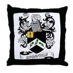 Bromfield Coat of Arms Throw Pillow