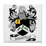 Bromfield Coat of Arms Tile Coaster