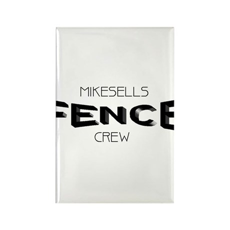 Mikesells Fence Co. Rectangle Magnet