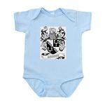Browne Coat of Arms Infant Creeper