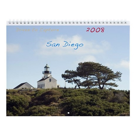 San Diego Wall Calendar