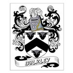 Bulkley Coat of Arms Small Poster