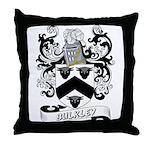 Bulkley Coat of Arms Throw Pillow