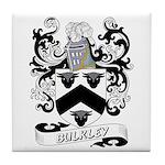 Bulkley Coat of Arms Tile Coaster