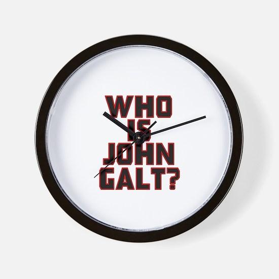 Who Is John Galt Wall Clock