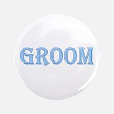 """Bride & Groom 3.5"""" Button"""