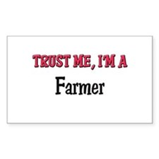 Trust Me I'm a Farmer Rectangle Decal