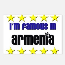 I'm Famous in Armenia Postcards (Package of 8)