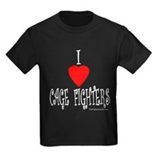 I Love Cage Fighters T