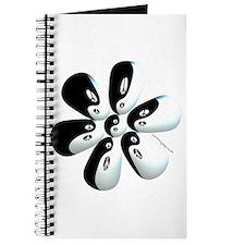 Yin yang flower Journal