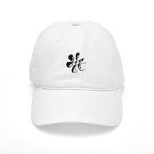 Yin yang flower Baseball Cap