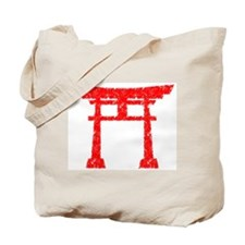 Red Torii Tote Bag