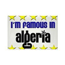 I'm Famous in Algeria Rectangle Magnet