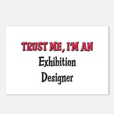Trust Me I'm an Exhibition Designer Postcards (Pac