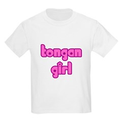 Tongan Girls Cute Kids Light T-Shirt