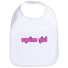 Syrian Girl Cute Syria Bib