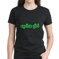 Syrian Girl Cute Syria Tee