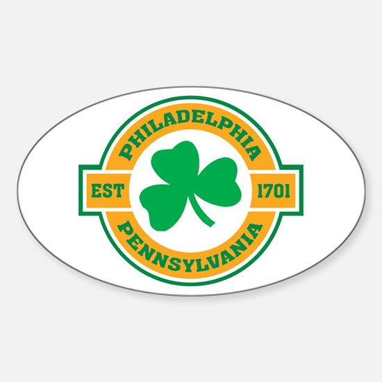 Philadelphia Irish Oval Decal
