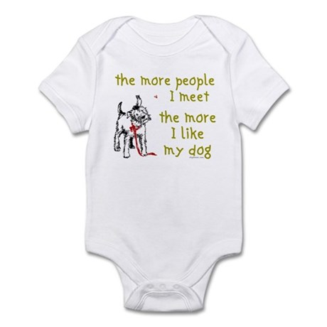 More People (Dog) Infant Creeper