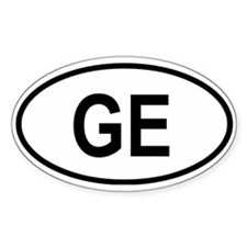 Georgia (country) Oval Decal