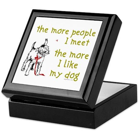 More People (Dog) Keepsake Box