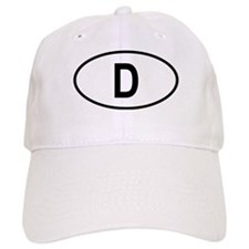 Germany Oval Baseball Cap
