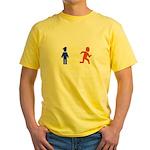 Don't Tase Me Yellow T-Shirt
