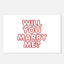 Will You Marry Me? Postcards (Package of 8)