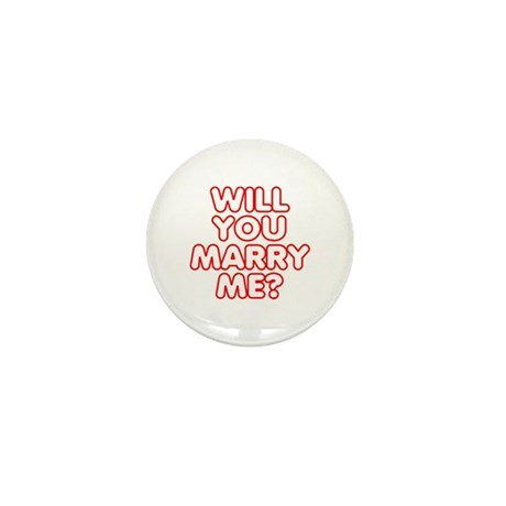 Will You Marry Me? Mini Button (100 pack)