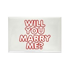 Will You Marry Me? Rectangle Magnet (100 pack)