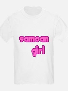 Samoan Girl Cute Samoa T-Shirt