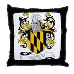 Calvert Coat of Arms Throw Pillow