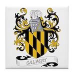 Calvert Coat of Arms Tile Coaster