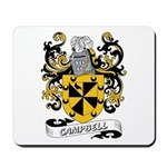 Campbell Coat of Arms Mousepad