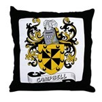 Campbell Coat of Arms Throw Pillow