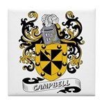 Campbell Coat of Arms Tile Coaster