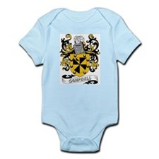 Campbell Coat of Arms Infant Creeper