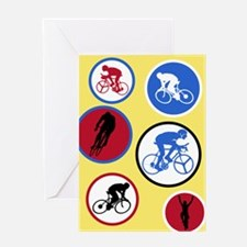 Cycling Circles - Birthday Card