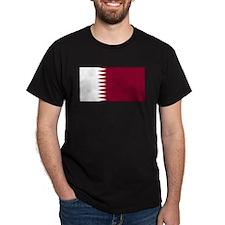 Qatar Qatari Blank Flag T-Shirt