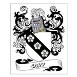 Cary Coat of Arms Small Poster