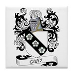 Cary Coat of Arms Tile Coaster