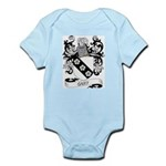 Cary Coat of Arms Infant Creeper