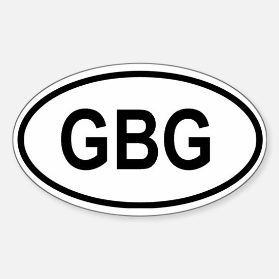 Guernsey Oval Decal