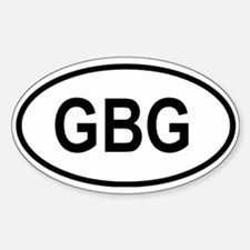 Guernsey Oval Stickers