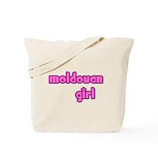 Moldovan Girl Cute Tote Bag